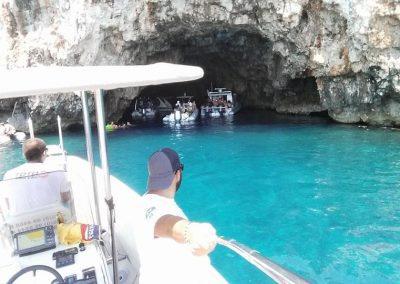 Entrada a la Cueva Azul