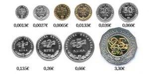 Monedas de Croacia