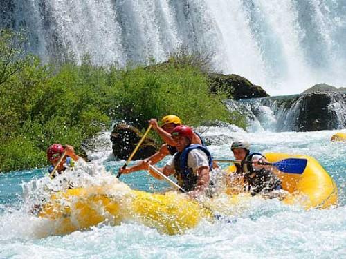 Rafting por el rio Zrmanja