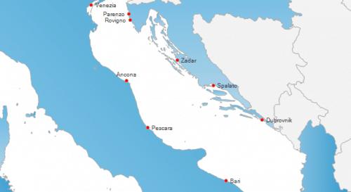ferry Italia Croacia